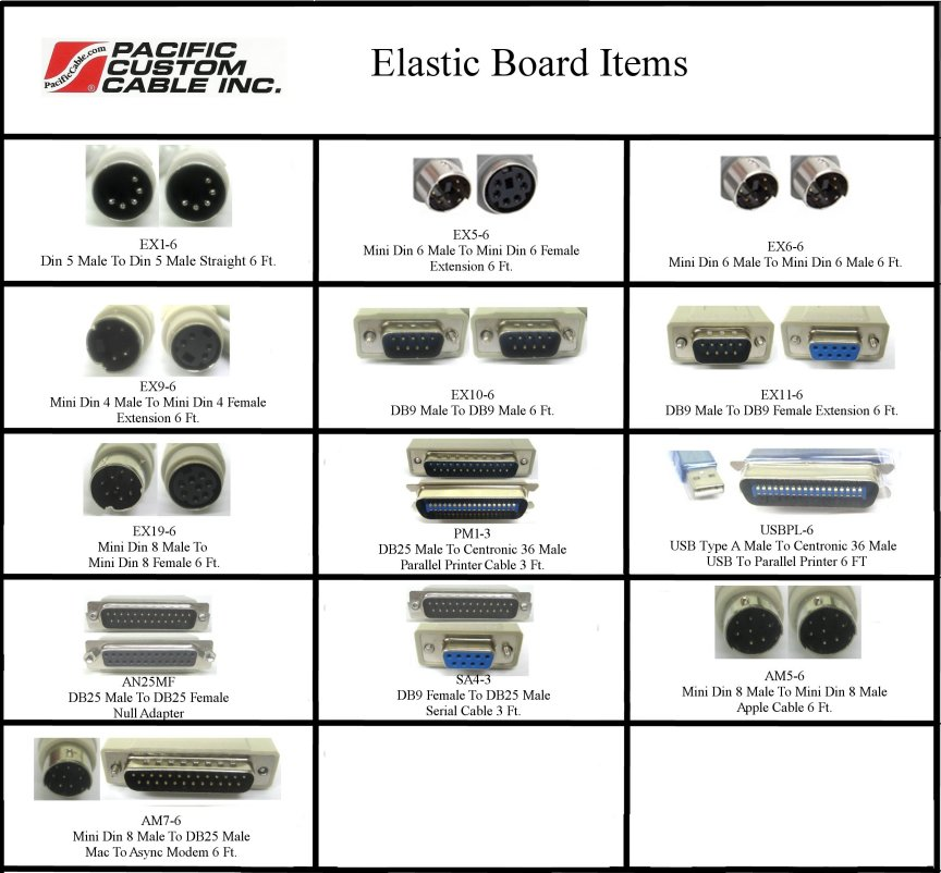 E-Pac Elastic Board Items