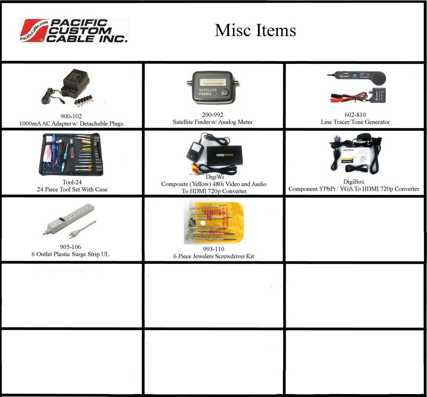 E-Pac MISC Items
