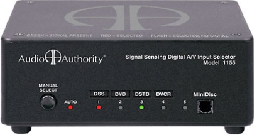 1155C Digital Audio / Composite Video Autoselecter