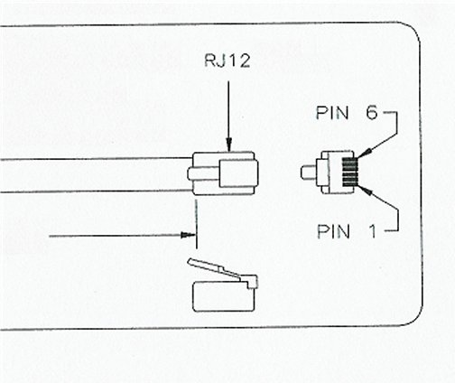 Rj12 Diagram Of 5 Pins on cat5 telephone wire connections
