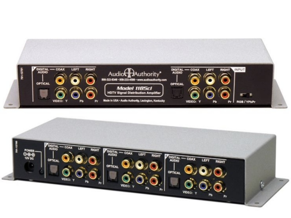 1185ci Component / Audio Distribution Amplifier - 1 Input, 4 Outputs