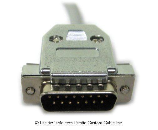 1784-CYK - RS-232-C Null Modem Cable. DB9 to DB15 ... on