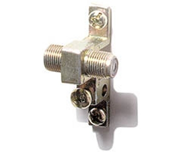 200-274 1 Ghz Single F Grounding Block 10 Pack