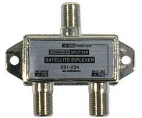 201-254 40-2050MHz TV-Satellite Mini-Diplexer