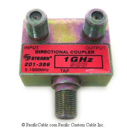201-359 9db 1GHz Plate-Mt Directional Coupler