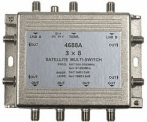 201-738 3x8 TV-Satellite Multi-Switch