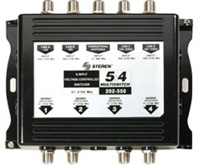 202-550 5x4 Multiswitch Aluminum