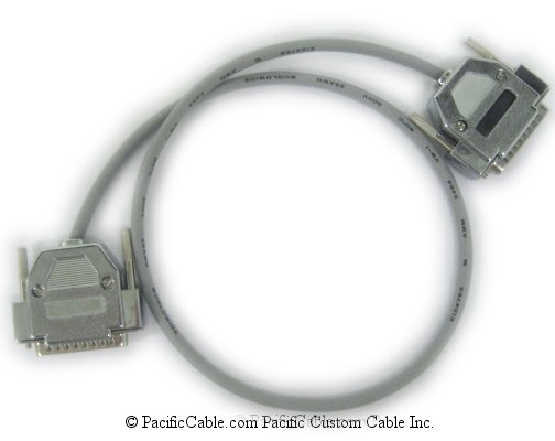 2457-10608-001 V.35 Cable. HD44 Male to HD44 Male. Polycom Cable. (Custom)