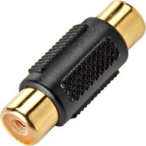 251-116 RCA Coupler Female (Jack) - Female (Jack) Gold / 5 Pack