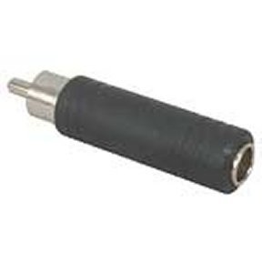 251-149 1/4 Inch Mono Female (Jack) to RCA Male (Plug)