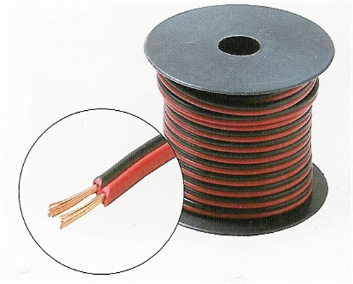 255-518RB 100 Ft. 18-Gauge Speaker Wire Red-Black