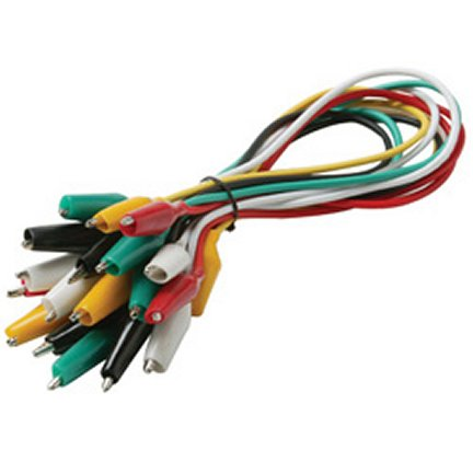 259-103 Alligator Clip Set - 5 Cables