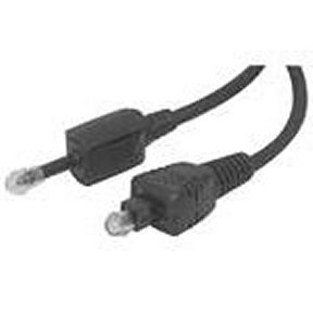 260-101BL 1 Ft. Toslink Digital Autio Fiber to Mini-Plug Cable