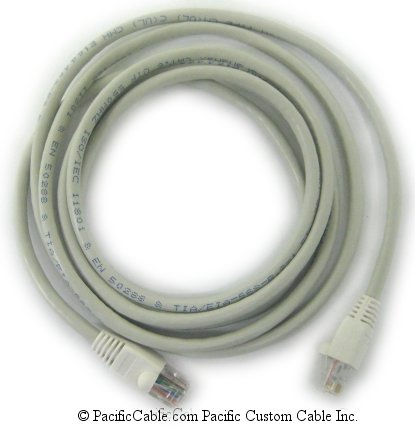 2711P-CBL-EX04 Category 5E Ethernet Crossover Cable. RJ45 Male to RJ45 Male. Allen Bradley Cable. (Custom)