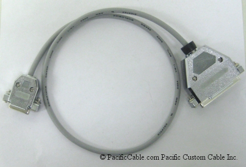 3Com6 RS-449 To X.21 Transition Cable. DB37 Female to DB15 Female. 3Com Cable. (Custom)