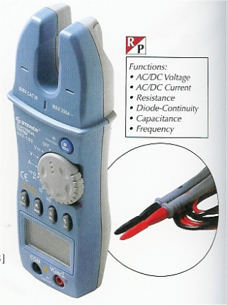 602-150 Open Jaw Digital Electrical Meter