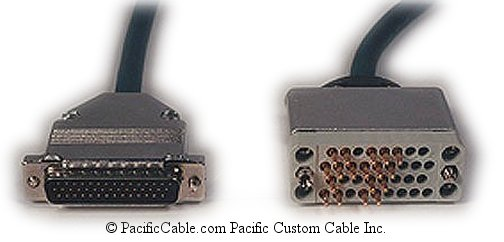 7137 Nortel Networks HD44 Male - V.35 Male (Custom Cable)