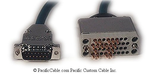 7158 Nortel Networks DB15 Male - V.35 Male (Custom Cable)