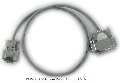 7526 Nortel Networks DB9 Male - DB25 Female (Custom Cable)