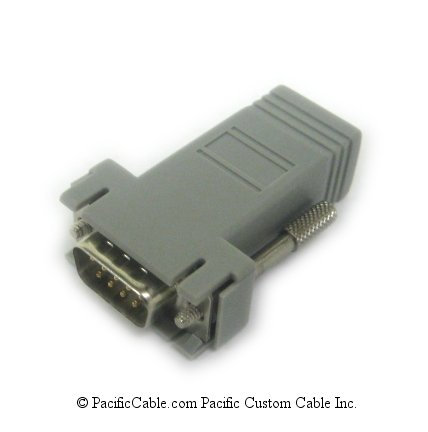 76000701 Digi TS Modem Adapter. RJ45 Female To DB9 Male. Digiboard Cable. (Custom)