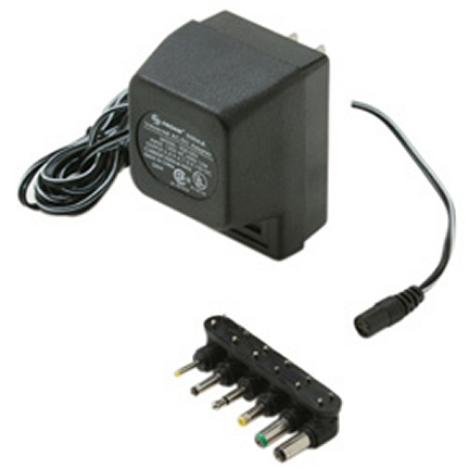 900-052 500mA cUL AC Adapter w/ Detachable Plugs