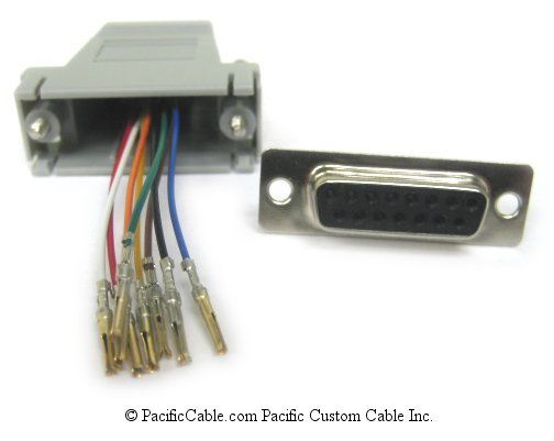 A15F45 D15 Female TO RJ45 (8 WIRE)