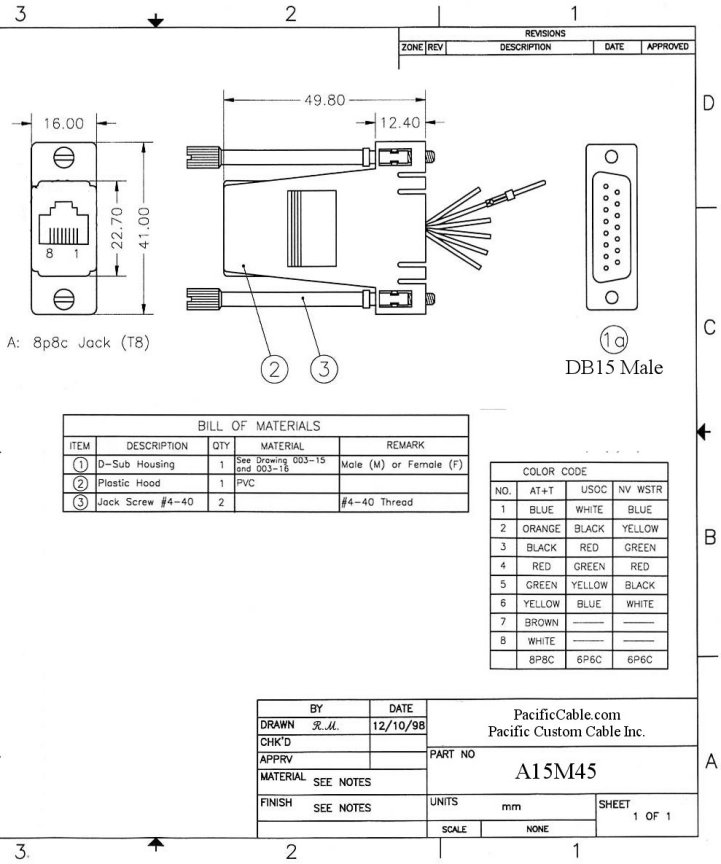 A15M45_Drawing diagrams 690596 rs485 to rj45 wiring diagram rs485 rj45 to bnc wiring diagram at soozxer.org
