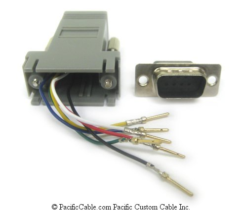 A9M12 D9 Male to RJ12 (6 Wire)
