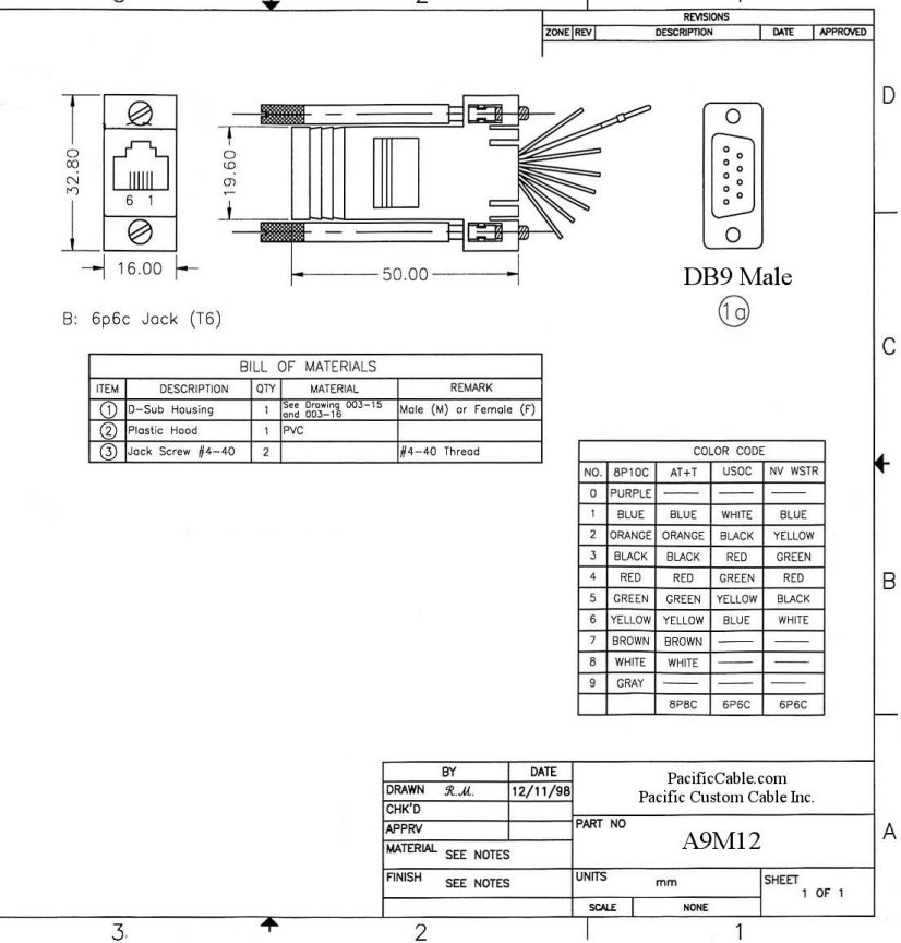100 db9 to rj12 pinout diagram rj45 to rj12 wiring   apktodownload com