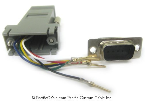 A9M45 D9 Male to RJ45 (8 Wire)
