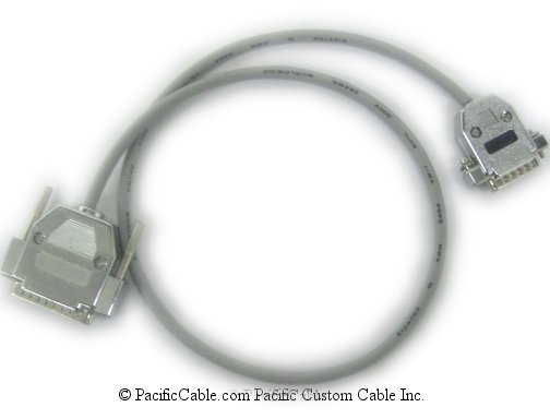 AA0018062 Nortel Networks HD44 Male - DB15 Male (Custom Cable)