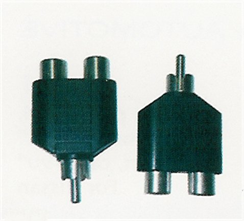 AD132 2 RCA Female (Jack) To RCA Male (Plug)