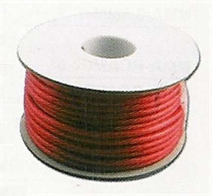 AKP-08TR-250 8 AWG Translucent Red Audio Wire 250 Ft.