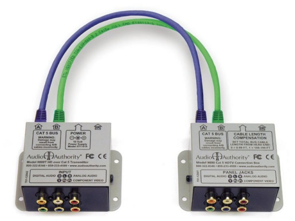 AVP-11 UniDrive Cat 5 Point-To-Point Distribution System (includes 1 x 9880)