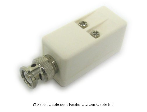 BA1 ArcNet 93 OHM, Male (Plug) To RJ11 Female