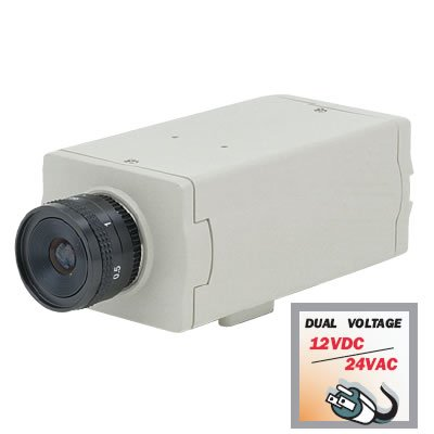 BC2002-12-24 Sony CCD, 1/4 Inch Color DSP with 420 Lines @ 0.5 lux, 12VDC/24VAC.  Special Order. Non-Returnable.