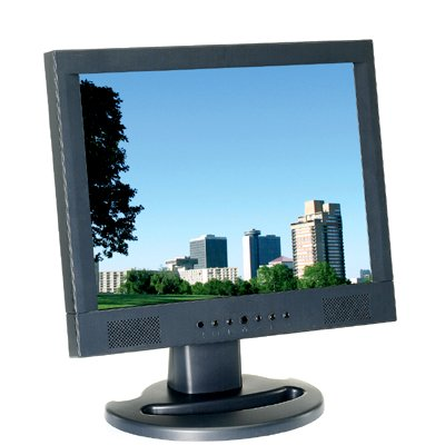 BE8019LCD 19 Inch LCD, 2 Ch. High Resolution Monitor. 1000 Lines. 2 BNC Video & Audio In/Out. S-Video. Special Order. Non-Returnable.