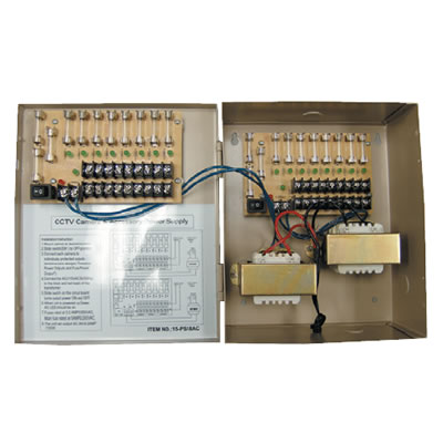 BP0050-18-5 12VDC Regulated Power Supply. 18 Output, 5 Amp. Special Order. Non-Returnable.