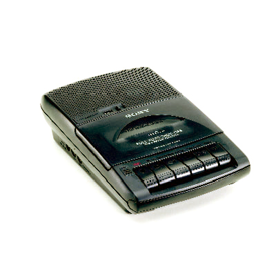 BT-ATR12 12-Hour Sony Telephone Recorder. Records When Receiver Is Lifted. Special Order. Non-Returnable.