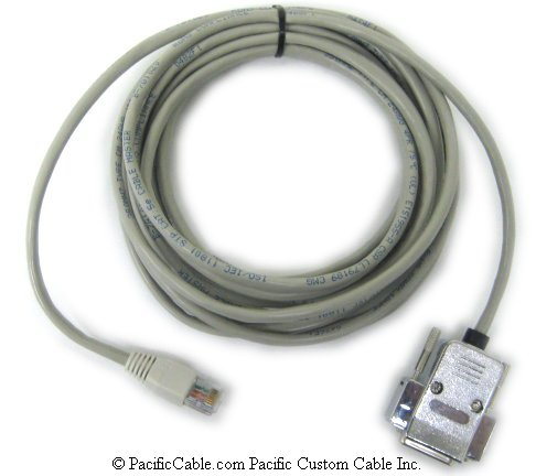 CA083 UniOP To RS-485 Eagle 2 Comm Port. DB15 Female To RJ45. UniOP Cable. (Custom)