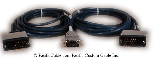 CAB-2-V35MT-10 Cisco LFH 60 Male ( DB60 Male ) - Two V35 Male DTE