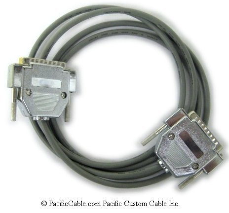 CAB-3838X-10 Cisco 3801 DTE To 3801 DCE DB25 Male To DB25 Male 10 Ft. (Custom)