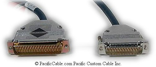 CAB-3850X-10 Cisco 3801 DTE To 3000/4000 DCE DB25 Male To DB50 Male 10 Ft. (Custom)