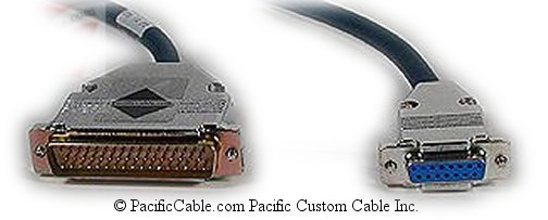 CAB-3CX21C-10 Cisco 3000 D50 Male - X21 DCE D15 Female 10 Ft. (Custom)