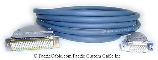 CAB-5026X-10 Cisco 3K or 4K DTE - Cisco AGS DCE DB50 Male To HD26 Male 10 Ft. (Custom)
