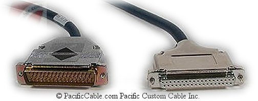 CAB-NP449C-10 Cisco 4000 To RS449 DCE DB50 Male To DB37 Female 10 FT.