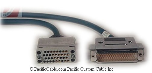 CAB-NPV35CV2-10 Cisco 3K or 4K Router V.35 DCE Series DB50 Male - V35 Female 10 Ft.