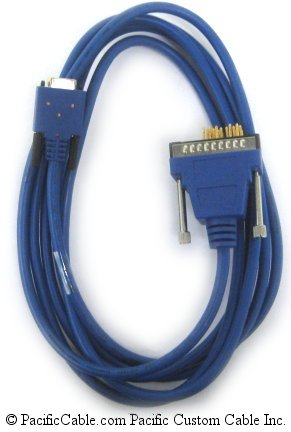 CAB-SS-V35MT-10 WIC 2T - V.35 DTE Smart Serial 26pin - V35 Male 10 Ft.