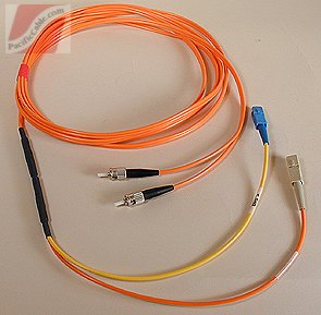 CABGELX-SCST-3 3 Meter Mode Conditioning Fiber Patch Cable ST to SC