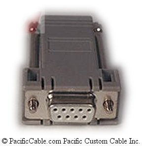 CBLADK01 DB9 Female To RJ12 Female. Cable Adaptor, Kadet Series Programming. Red Lion Cables. (Custom)